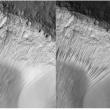 Le mystère des écoulements sombres équatoriaux de Mars s'éclaircit !