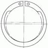 anneau à hauteur d'épaulement constante