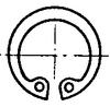 Circlips intérieur