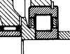 Roulement avec jonc élastique
