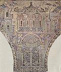Mosaïque de la Grande mosquée de Damas, vers 715