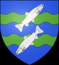 Blason ville fr Mont-Saint-Michel (Manche).svg