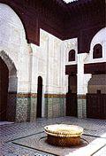 Medersa Bou Inania de Mekn�s 1350-1355