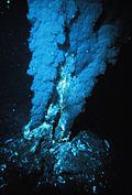 Une cheminée hydrothermale
