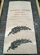 Tombe de Gabriel Voisin