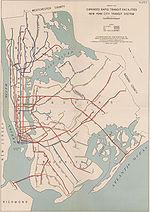 Le réseau en 1940