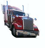 US truck - California