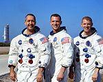 L'équipage de la mission Apollo 9