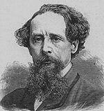 Charles Dickens (1812-1870), �crivain de Londres de l'�poque victorienne