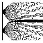 Interférence des ondes de probabilité