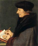 Érasme, par Hans Holbein le Jeune