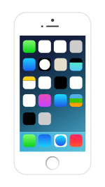 IPhone with icons.svg