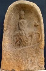 Représentation d'Épona, Musée Lorrain, Nancy, France