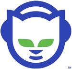 Le chat portant des écouteurs: seconde version du logo de Napster (2001)