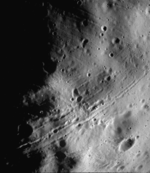 Photo de la sonde Viking 1 de la surface de Phobos prise en 1977