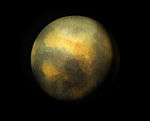 Pluton en vraies couleurs. C'est la photo de meilleure résolution que l'on ait de la planète.