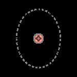 En revanche, son déplacement brise cette symétrie, à cause d'effets relativistes: cette déformation est à l'origine du champ magnétique.
