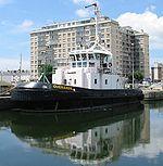Guerande au port de Saint-Nazaire