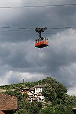 Téléphérique à Bolzano