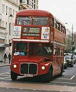 Bus à impériale à Londres