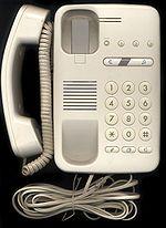 Téléphone filaire récent