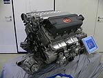 Moteur W16 de la Bugatti
