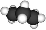 Structure 3D et 2D du propane