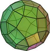 Un petit rhombicosidodécaèdre