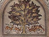 Mosa�que du Khorbat al-Mafjar, VIIIe si�cle