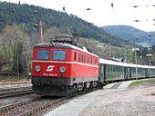 Train de voyageurs des ÖBB