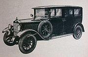 Selve 11/45 PS Limousine 1927, 6-7 places