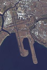 Pistes de l'aéroport Kingsford Smith de Sydney