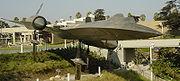 Le seul A-12 biplace, désormais exposé au California Science Center