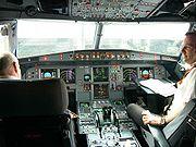 Cockpit d'A319