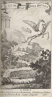 Almanach des Muses de 1767.