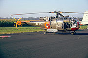 Alouette III [H-75] Search and Rescue (SAR) de la Royal Netherlands Air Force
