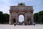 Arc de Triomphe du Carrousel (Charles Percier et Pierre-François-Léonard Fontaine)