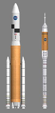Les nouvelles fusées Ares qui seront lancées pour retourner sur la Lune.