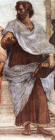 Aristote: le fondateur de la logique formelle (peinture par Raphaël).
