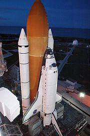 Atlantis au lancement, 29 août 2006.