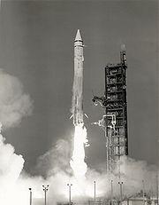Lancement de Mariner 9 par une fusée Atlas-Centaur SLV-3C