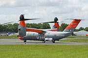 Le projet d'avion de transport civil Bell/Agusta BA609