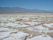 Un exemple de playa, Vallée de la Mort, États-Unis