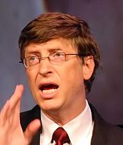 Bill Gates à Copenhague en 2004.