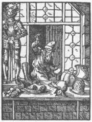 Travail du métal en 1568, Allemagne