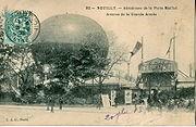 L'aérodrome de la Porte Maillot à Neuilly-sur-Seine, avant 1903