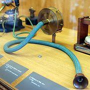 le telephone deAlexander Graham Bell au Musée des Arts et Métiers à Paris