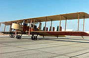 Bombardier italien Caproni Ca.36 de la Première Guerre mondiale