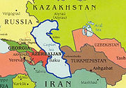 La mer Caspienne et les États riverains
