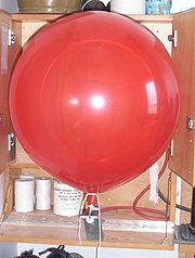 Ballon plafonnant (